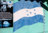 The flag of Honduras