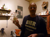 Thomas, the German owner and brewer of Sol de Copan, runs a fine establishment together with his Honduran wife