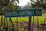 Frontera Guatemala 12 km