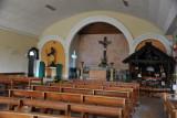 Interior of the old church, Copan Ruinas