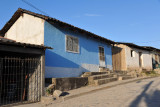 Calle Yaruga runs east-west through the upper town