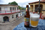 After a full day of touring the ancient ruins of Copan, back on the terrace of Twisted Tanya's