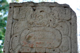 Detail of the back side of Stele 6