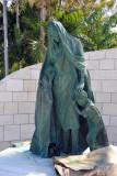 Miami Beach Holocaust Memorial sculpture - The Beginning