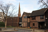 Coventry once possessed one of England's most well preserved medieval town centers