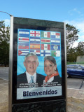 The new President of Guatemala Otto Perez Molina welcomes me on Inauguration Day