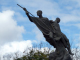 Monument in a roundabout by the airport, Guatemala City