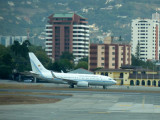 Colombian Air Force VVIP 737, Guatemala City Airport