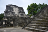 Small temples on top of the Northern Acropolis, Tikal