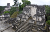At the height of Tikal around 800 AD, there were 12 temples on the Northern Acropolis
