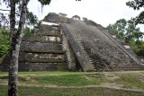 Like most large Mayan structures, the Talud-Tablero Temple was constructed in layers with the earliest dating to the 3rd Century