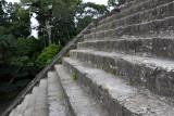 Climbing the Talud-Tablero Temple of the Mundo Perdido