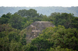 The Great Pyramid of the Lost World from the top of Temple IV