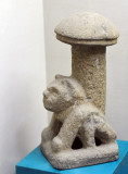 Sculpture with a form of a fungus, Kaminaljuyu, Late Preclassic Period, 250 BC-250 AD