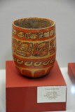 Polychromatic vessel, Lowlands, Late Classic Period 600-925 AD