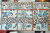 Only three pre-Columbian Mayan books survived the Spanish conquest