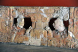 Detail of the back of the Piedras Negras Throne