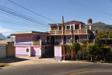 Pink and lavender house