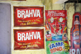 Brahva Beer with a logo rather similar to Brazil's Brahma