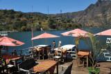 Little lakeside restaurant near the Panajachel lancha dock
