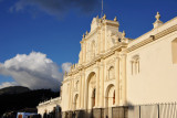 The Catedral de Santiago is best seen in the late afternoon due to its position on the east side of the Parque Central