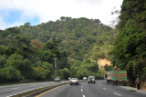 The Pan American Highway from Guatemala City
