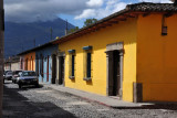 Antigua Guatemala is easy to navigate with it's square grid and prominent volcanoes