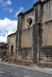 Las Capuchinas, another victim of the 1773 earthquake