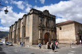 Iglesia de las Capuchinas has been only partially restored