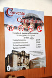 Admission to Las Capuchinas, around US$5 (Q40)