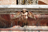 Detail of the giant fountain at  Nuestra Señora de la Merced