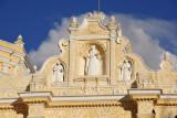The Baroque façade of Nuestra Señora de la Merced dates from the second reconstruction, 1850-1855