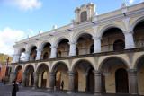 Palacio De Los Capitanes Generales, originally the capital of all the Spanish colonies in Central America