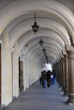 1760s arcade of the Palacio De Los Capitanes