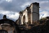 Iglesia y Convento de la Recolección, a total ruin with no restoration at all since the 1773 earthquake