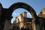 Arch of the former front entrance to the Church of the Recollection, Antigua Guatemala