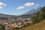 To the west of Antigua Guatemala, Volcán de Fuego