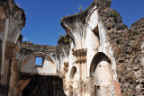 The Church and Convent of Santa Teresa was destroyed in Antigua Guatemala's 1773 earthquake