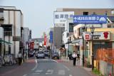 Narita's Main Street, Hanazaki-cho, leads from the station to Naritasan Shinshoji Temple