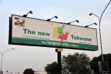 The new Tshwane - the largest city in Africa