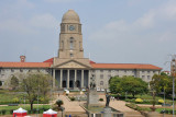 Pretoria City Hall and Pretorius Square from the South African Museum of Natural History