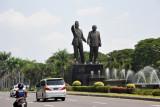 The access road to Jakarta International Airport - Jalan Raya Bandara