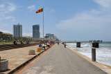 Galle Face Walk was constructed 1856-1859 by Sir Henry Ward