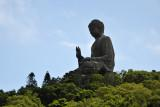 The star attraction of Lantau Island - the giant Tian Tan Buddha