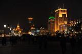 The Bund at night, Shanghai