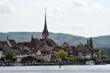 Leaving Stein am Rhein behind