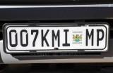 Mpumalanga License Plate