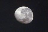 The moon from the Okavango Delta, Botswana