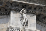 Como cathedral is held up by dozens of statues, mostly naked men