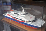 Model of the Colonia Express ferry